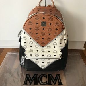 MCM 3 Color Backpack ! NWT !